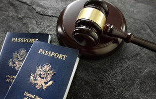 Gavel and Passports